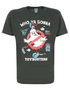 Camiseta S-fly Toybusters - negra