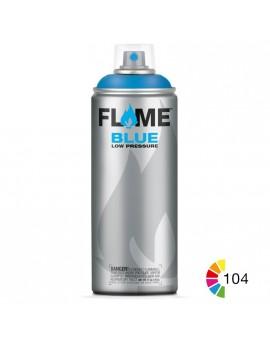 Spray de pintura acrílica Flame Blue 400ml