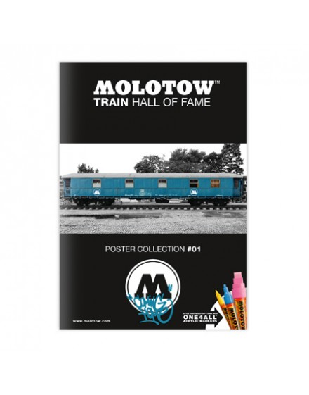 "Poster ""Molotow Train"" Hall of fame"