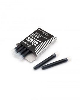 Pack cartuchos de tinta negra Pilot Parallel Pen x6