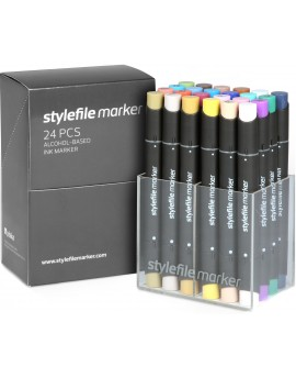 Stylefile twin marker Set Main B (24 rotuladores)