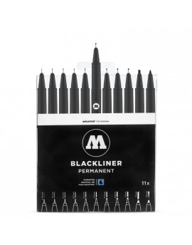 Pack rotuladores Blackliner Molotow x11
