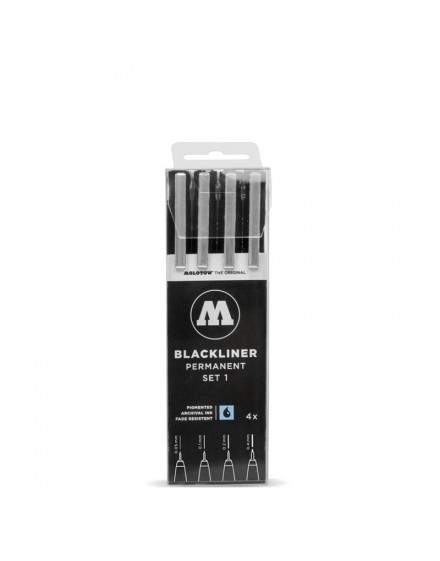 Pack rotuladores Blackliner Molotow x11