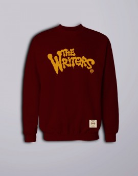 "Sudadera WM ""The Writers"" Granate"
