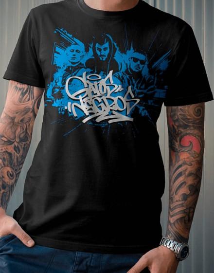 """Camiseta The Louk - """"Gatos negros"""" 2"""