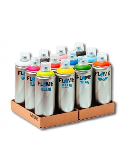 Pack Flame Blue 400ml x12