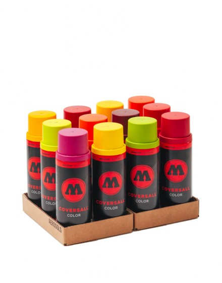 Pack Molotow Coversall color 12