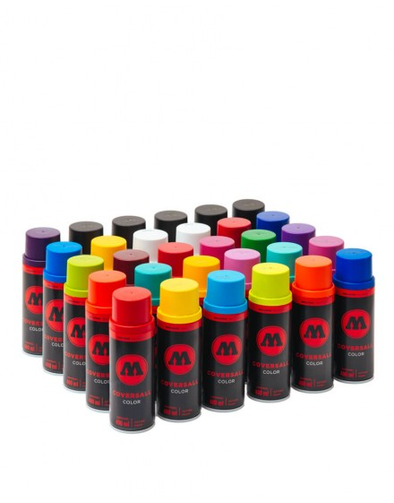 Pack ahorro 30 sprays Molotow Coversall