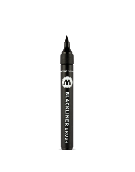 Rotulador de punta pincel Molotow Blackliner Brush