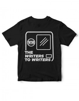 "Camiseta ""WRITERS TO WRITERS CABEZERA"" Negra"