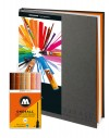 Pack ahorro 12 rotuladores Stylefile + blackbook
