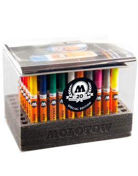 pack 70 rotuladores acrilicos one4all 127