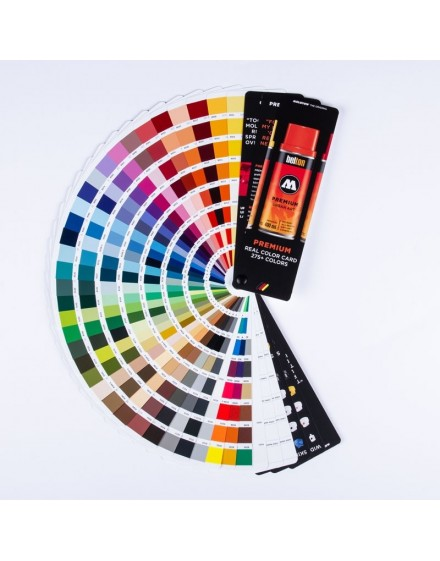 carta de color profesional Molotow Premium