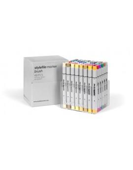 Stylefile Brush Main (48 rotuladores)