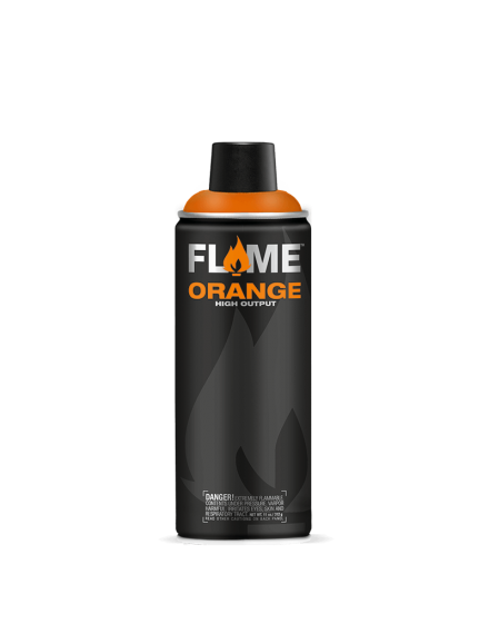 spray de pintura flame orange graffiti 400ml