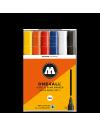 Pack 6 rotuladores acrílicos One4all 4mm / Set 1