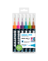 Pack 6 rotuladores acuarelables Molotow grafx set2