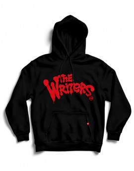 "Sudadera capucha WM ""The Writers"" Negra"
