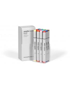 Stylefile Brush Main B Set 12 rotuladores
