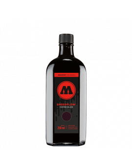 Tinta permanente negra Molotow Speedflow 250mm
