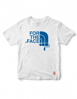 camiseta for the face - Gris