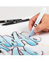 rotuladores acuarelables Molotow Aqua Brush set 2