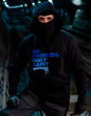 "Sudadera -""NO PROBLEM ONLY PAINT"" gama azules"