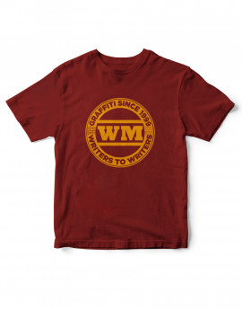 Camiseta Logo WM 1999 burdeos
