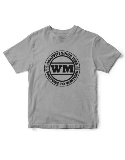 Camiseta Logo WM 1999 gris