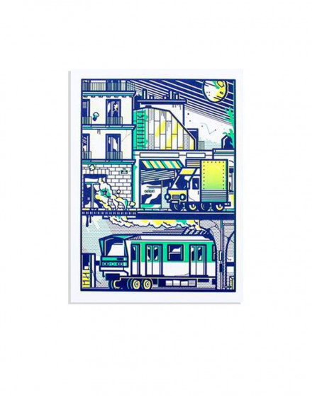 Paname city print