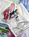 "Camiseta ""kata"" & pinturas angelus"