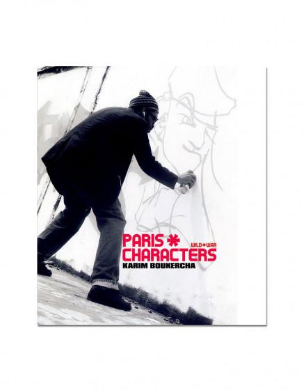 Paris characters-karim boukercha