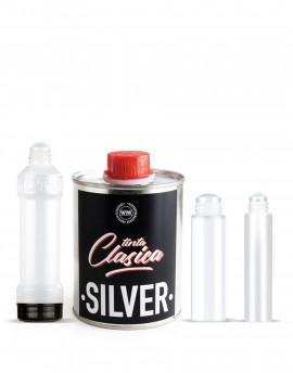 Pack tinta clasica silver-chorreadores