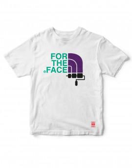 Camiseta For the Face - blanco 3 colores