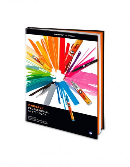 Black Book Professional One4All Din A4 - vertical