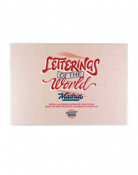 Letterings of the world madrid