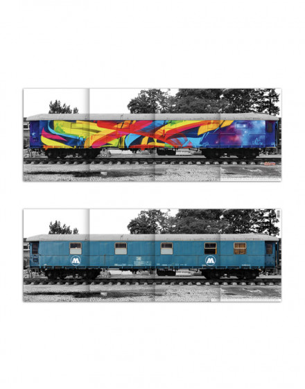 Molotow train mega poster