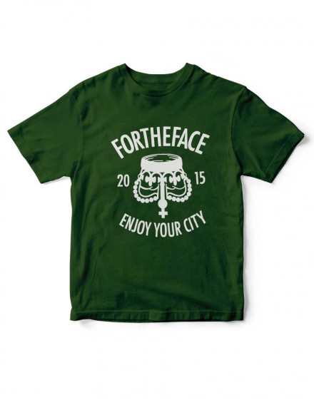Camiseta For the Face - Enjoy your city