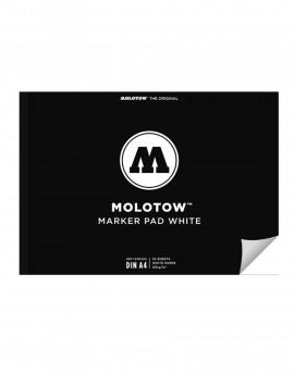 MOLOTOW Marker Pad A4-hoja blanca