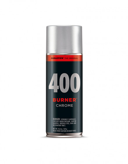 BURNER Chrome 400ml