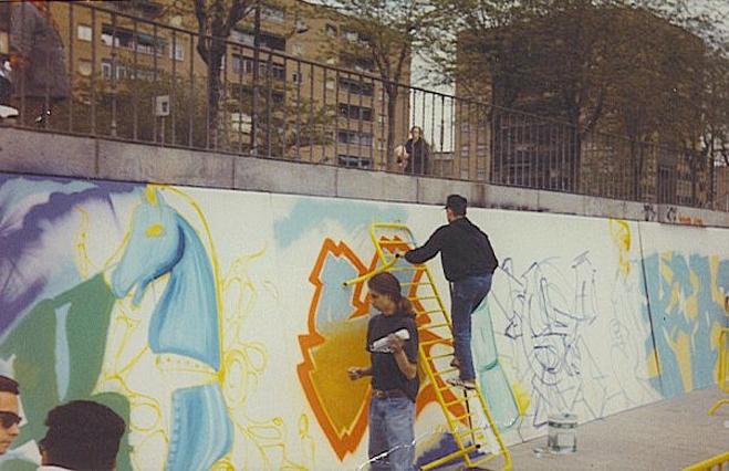 pintura para graffiti
