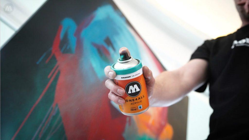 One4all spray 400ml pintura acr lica blog writers madrid - Spray pintura acrilica ...