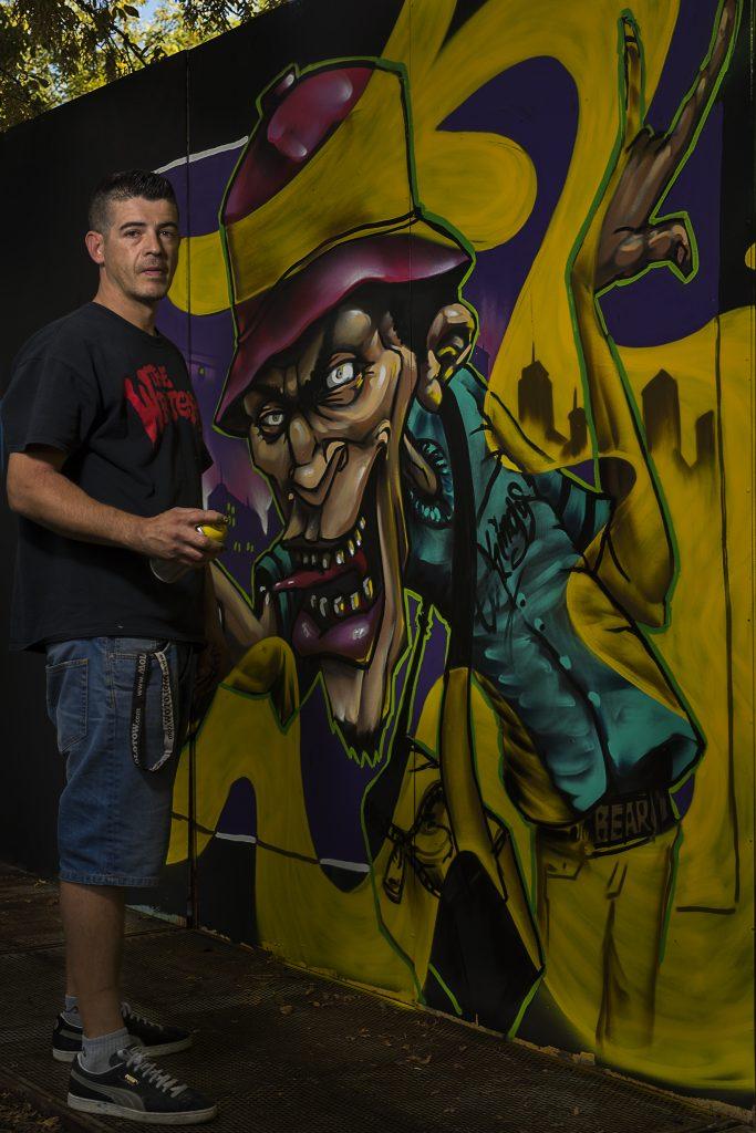 exhibición de graffiti bear graffiti writers madrid