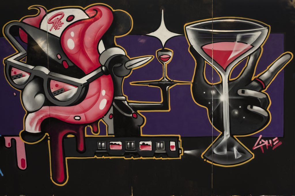 exhibición de graffiti phero graffiti writers madrid