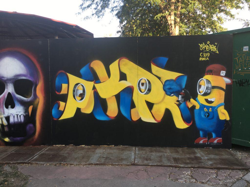 exhibición de graffiti writers madrid