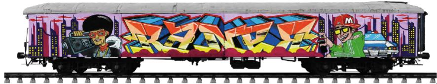 primer premio writers madrid concurso pinta el tren de molotow