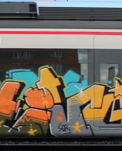 Graffiti Tivo Madrid