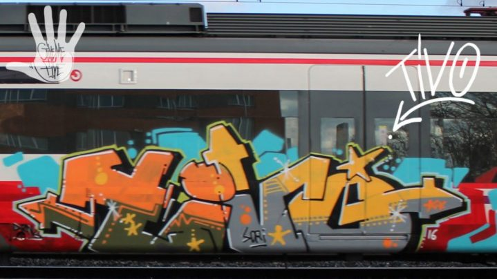 Graffiti Tivo Madrid