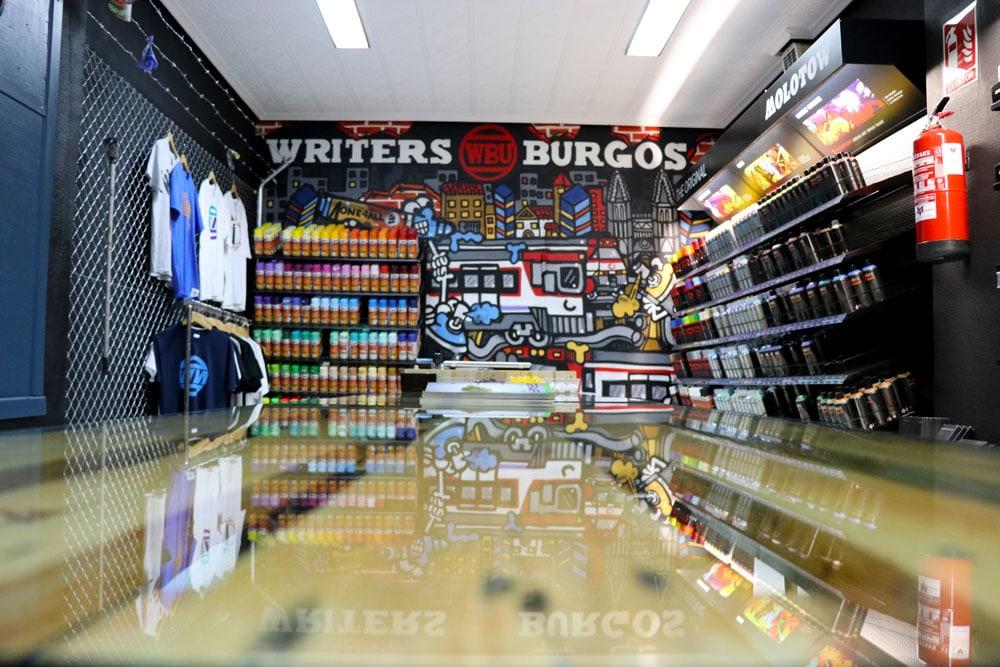 La mejor tienda de graffiti del norte