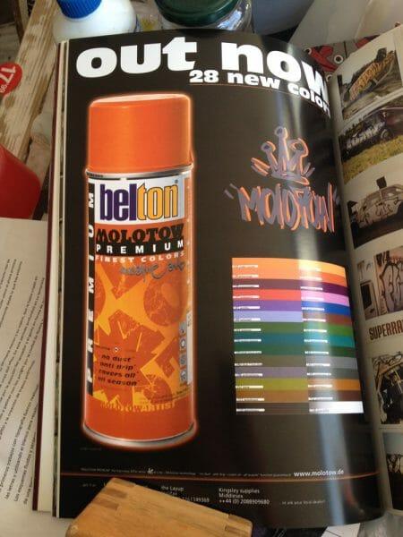 tienda online de graffiti molotow belton premium